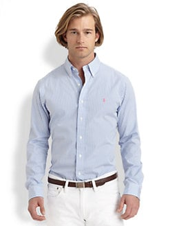 Polo Ralph Lauren - Custom-Fit Striped Sportshirt