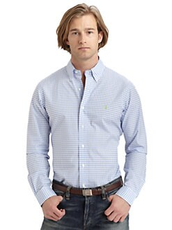 Polo Ralph Lauren - Custom-Fit Gingham Sportshirt