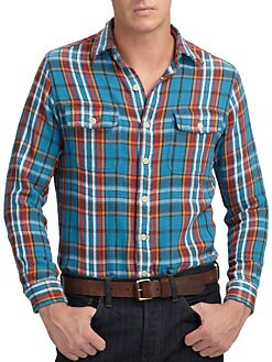 Polo Ralph Lauren - Custom-Fit Plaid Matlock Shirt