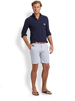 Polo Ralph Lauren - Solid Mesh Cotton Polo
