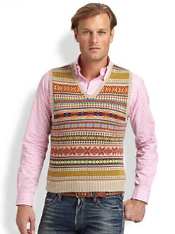 Polo Ralph Lauren - V-Neck Knit Vest
