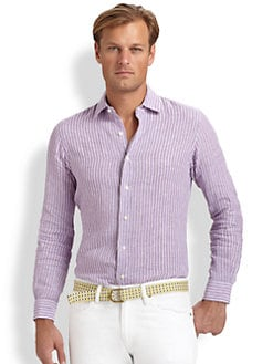 Polo Ralph Lauren - Custom-Fit Linen Sportshirt