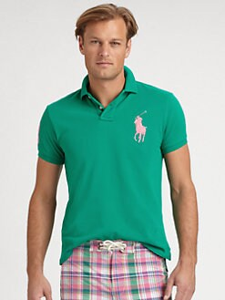 Polo Ralph Lauren - Solid Mesh Custom-Fit Polo