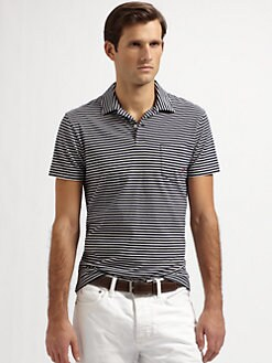 Polo Ralph Lauren - Striped Cotton Polo