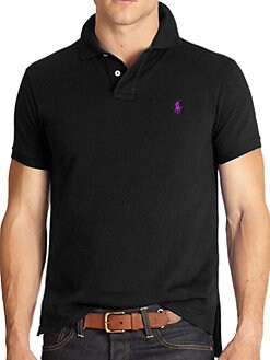 Polo Ralph Lauren - Custom Fit Basic Mesh Knit Polo