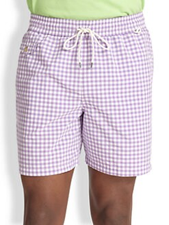 Polo Ralph Lauren - Traveler Checked Swim Shorts