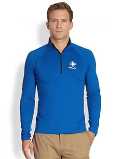 RLX Ralph Lauren - Stretch Jersey Half-Zip Mockneck Sweater