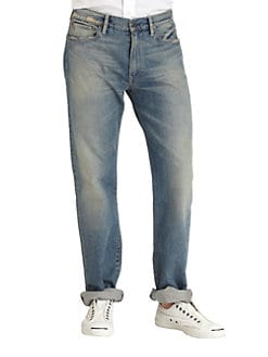 Polo Ralph Lauren - Classic-Fit Clarkson Wash Jeans