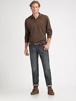 Polo Ralph Lauren - Mercerized Long-Sleeve Polo