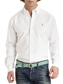 Polo Ralph Lauren - Custom-Fit Cotton Sportshirt