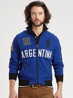Polo Ralph Lauren - Argentina Full-Zip Fleece Jacket