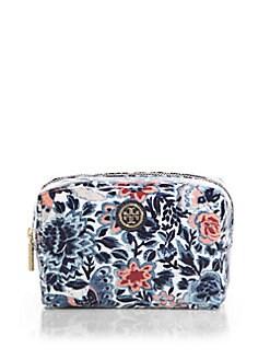 Tory Burch - Brigitte Floral-Print Cosmetic Case