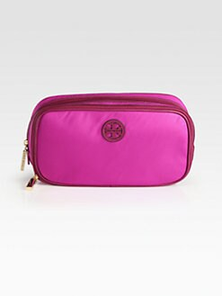 Tory Burch - Twin Zipper Nylon Cosmetic Bag
