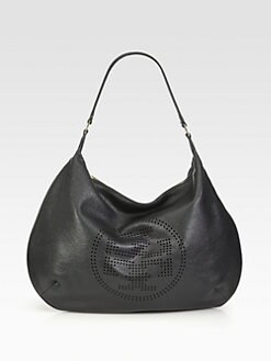 Tory Burch - Perforated Logo Hobo