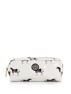 Tory Burch - Horse-Patterned Cosmetic Case