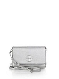 Tory Burch - Thea Metallic Wallet Crossbody Bag