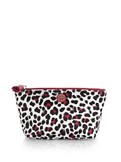 Tory Burch - Trapeze Leopard-Patterned Cosmetic Case