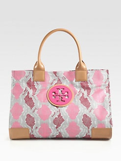 Tory Burch - Ella Printed Canvas Tote