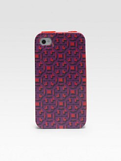 Tory Burch - Logo Lattice Hardcase for iPhone5