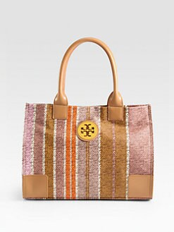 Tory Burch - Ella Coated Canvas Mini Tote