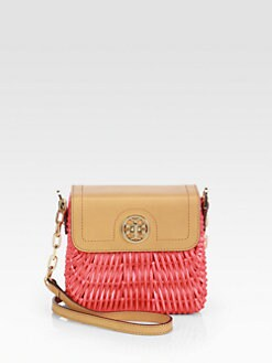 Tory Burch - Lacquered Rattan Shoulder Bag