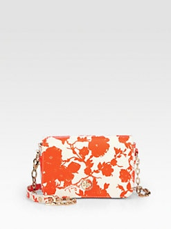 Tory Burch - Robinson Printed Coated Canvas Shoulder Bag