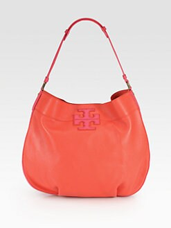 Tory Burch - Stacked Logo Hobo