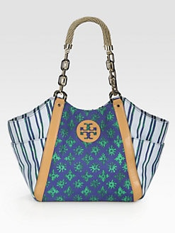 Tory Burch - Karlya Mix Print Tote