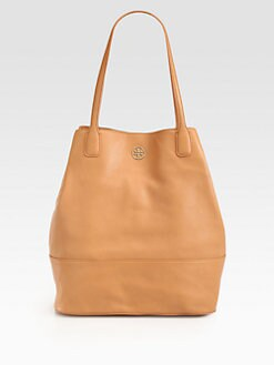 Tory Burch - Michelle Pebbled Leather Tote