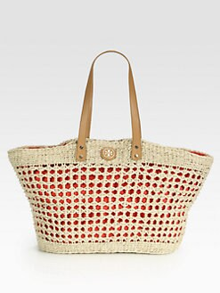 Tory Burch - Megan Twisted Straw Tote