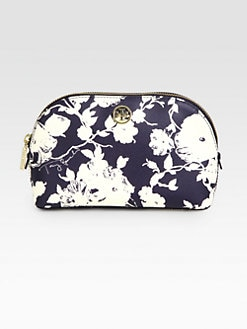 Tory Burch - Robinson Coated Canvas Cosmetics Case