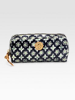 Tory Burch - EW Coated Poplin Cosmetic Case