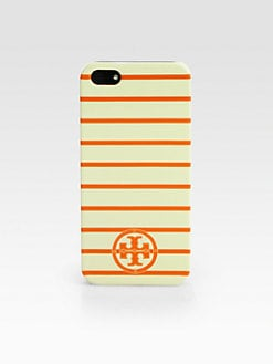 Tory Burch - Stacked Logo Striped Hardcase for iPhone 5