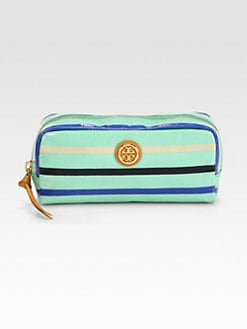 Tory Burch - Striped Cosmtic Case