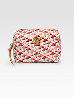 Tory Burch - Brigitte Flamingo Cosmetic Case