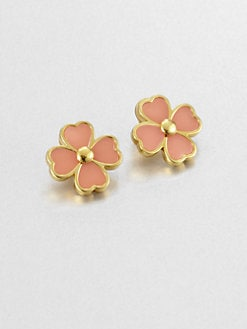 Tory Burch - Shawn Clover Stud Earring