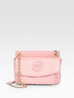 Tory Burch - Marion Whipstitched Small Satchel