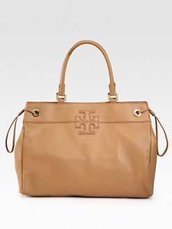 Tory Burch - Logo Stacked Tote Bag