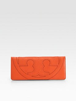 Tory Burch - Amalie Emblem Fold-Over Clutch