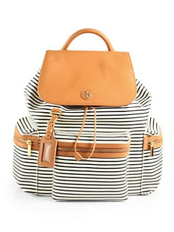 Tory Burch - Viva Striped Backpack