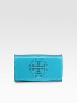 Tory Burch - Perforated Logo Clutch
