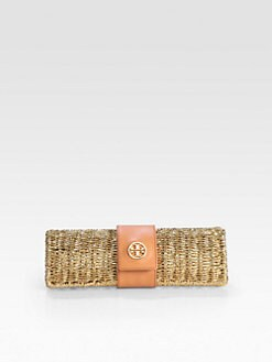 Tory Burch - Chunky Straw Clutch