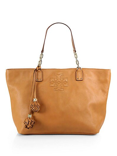Thea Small Leather Tote