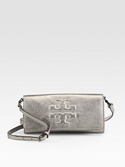 Tory Burch - Thea Metallic Bombe East/West Clutch