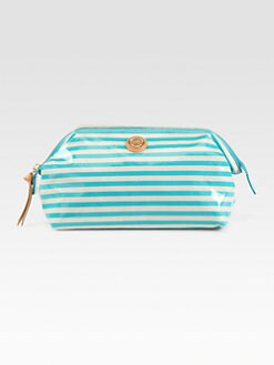 Tory Burch - Brigitte Coated Poplin Cosmetic Case