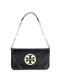 Tory Burch - Reva Leather Convertible Clutch