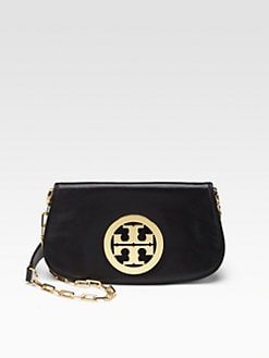 Tory Burch - Leather Logo Clutch