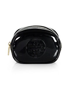 Tory Burch - Patent Leather Cosmetic Bag