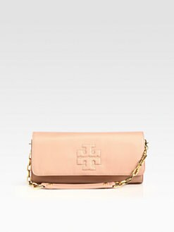 Tory Burch - Bombe Leather East/West Convertible Clutch