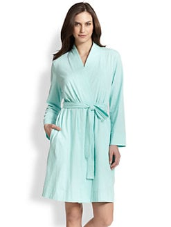 Cottonista - Cotton Jersey Short Robe